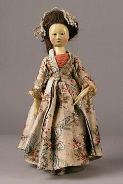 Queen Anne Wooden Doll