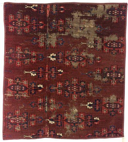 Yomud Main Carpet Fragment