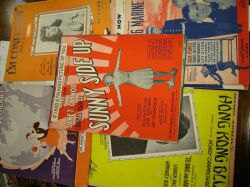 Collection of Sheet Music.