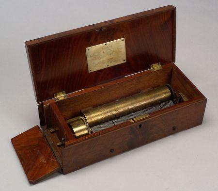 Early Key-wind Musical Box