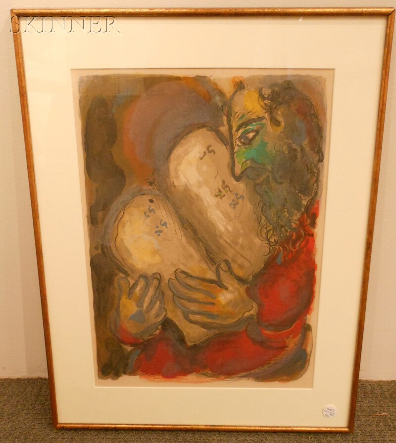 Marc Chagall (Russian/French, 1887-1985)      Two Images from THE STORY OF EXODUS