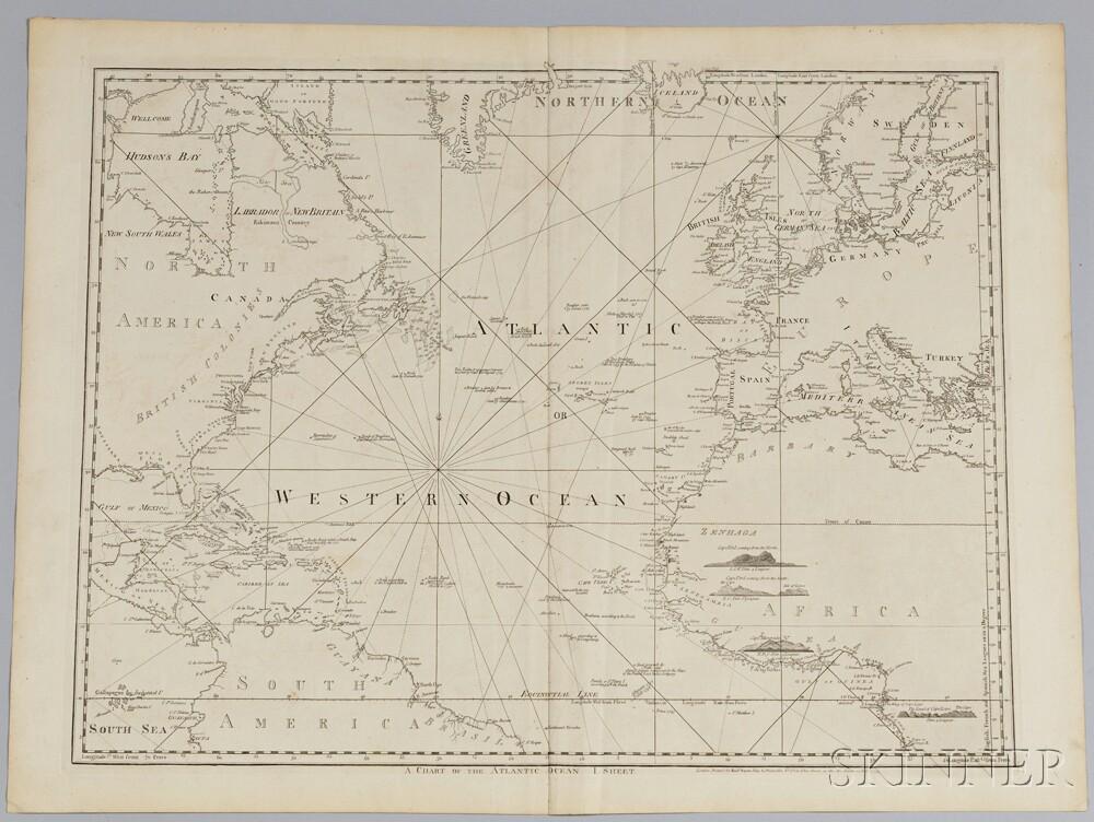 A Chart of the Atlantic Ocean