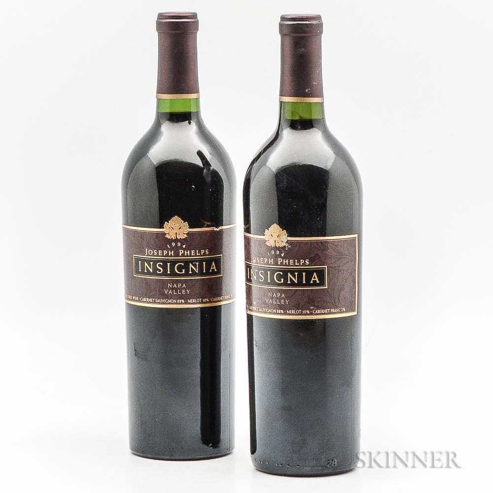Joseph Phelps Insignia 1994, 2 bottles