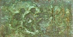 Raymond Averill Porter (American, 1883-1949)  The Gunman/A Plaque