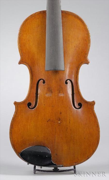 Tyrolean Violin, Klotz School, c. 1850