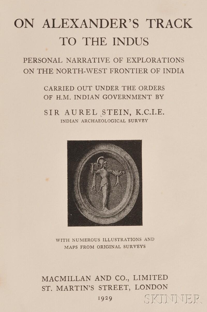(Travel and Exploration, India), Stein, Aurel