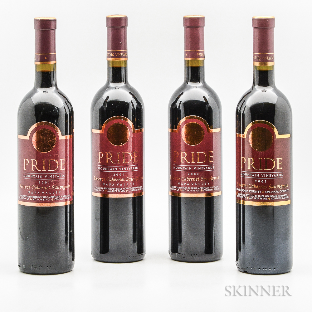 Pride Mountain Vineyards, 4 bottles