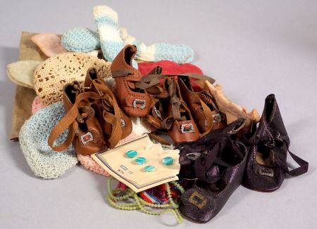 Doll Shoes, Socks, and Miscellaneous Supply Items