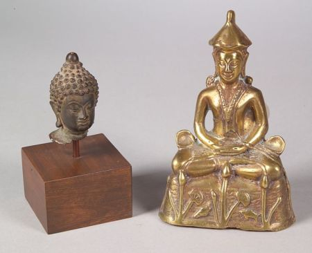 Two Southeast Asian Bronzes