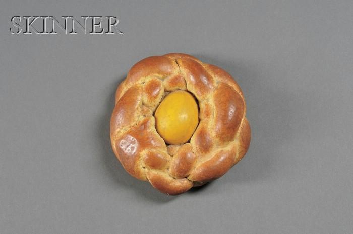 Jeff Koons (American, b. 1955)      Bread With Egg (Yellow)