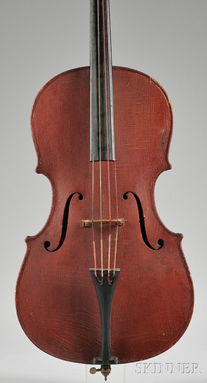 Child's American Violoncello, Myron Kidder, Northampton, 1897