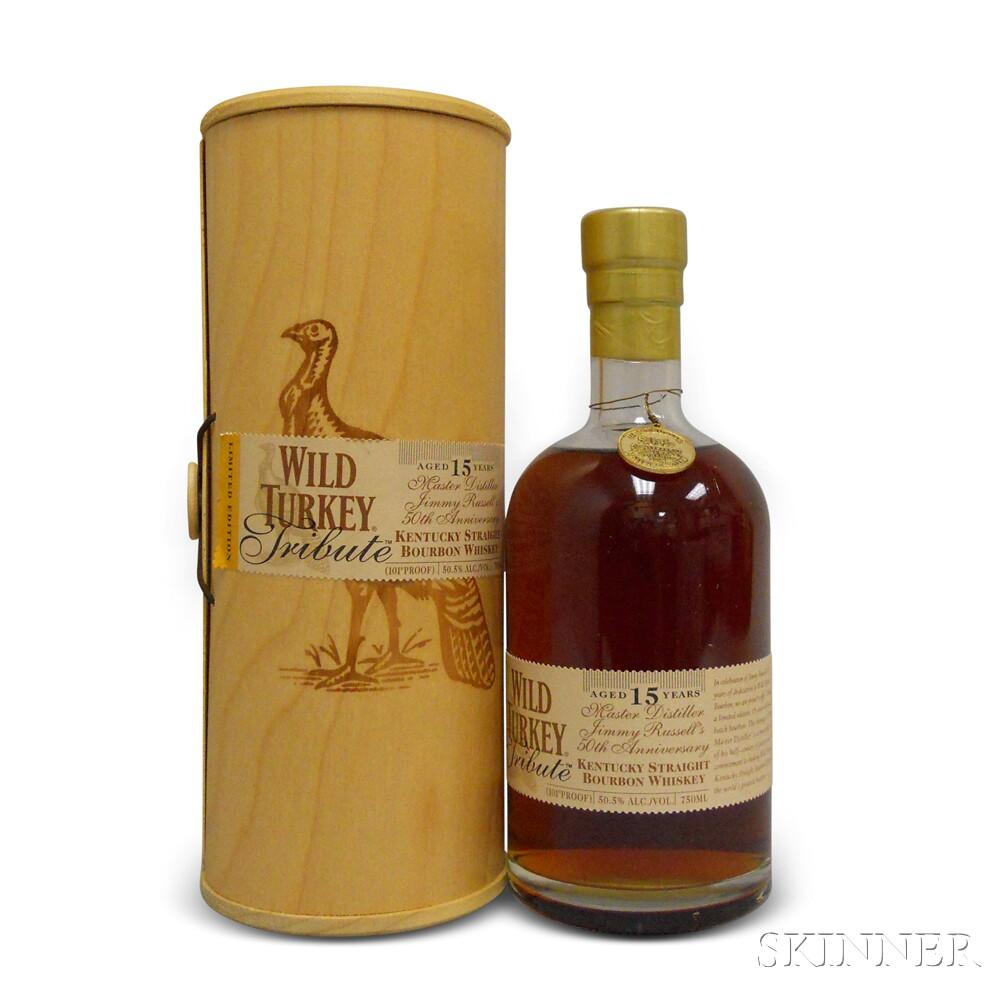Wild Turkey Tribute 15 Years Old, 1 750ml bottle (ot)