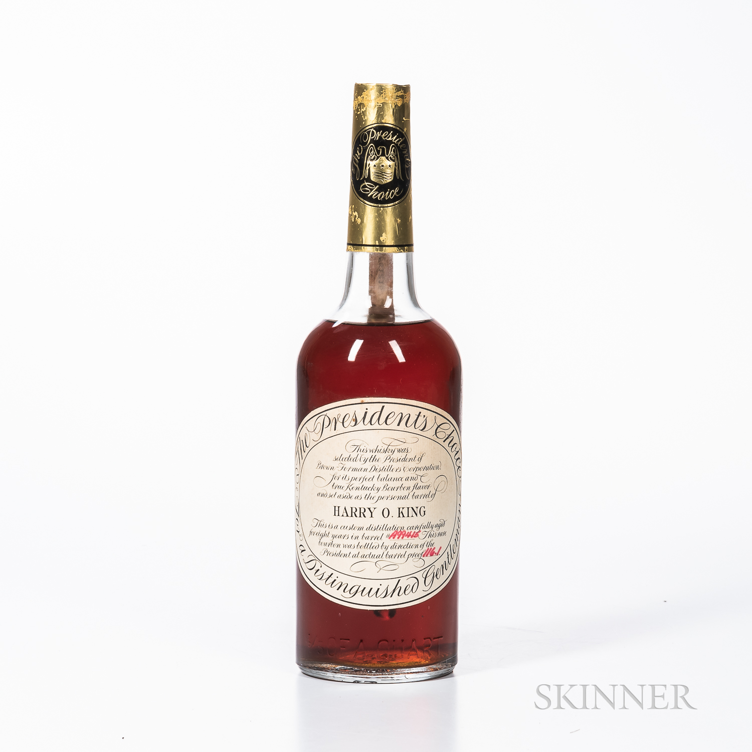 Presidents Choice 8 Years Old, 1 4/5 quart bottle