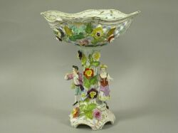 German Porcelain Compote