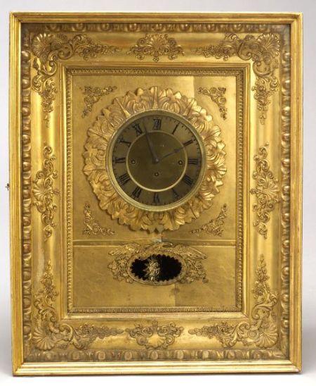 Viennese Musical Wall Clock by M. Miller & Sohn