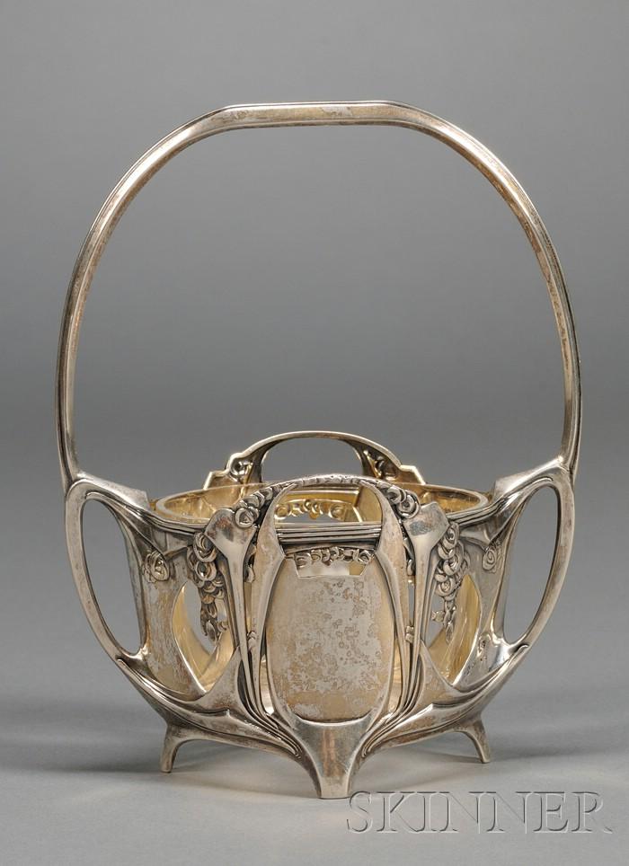 Art Nouveau Basket
