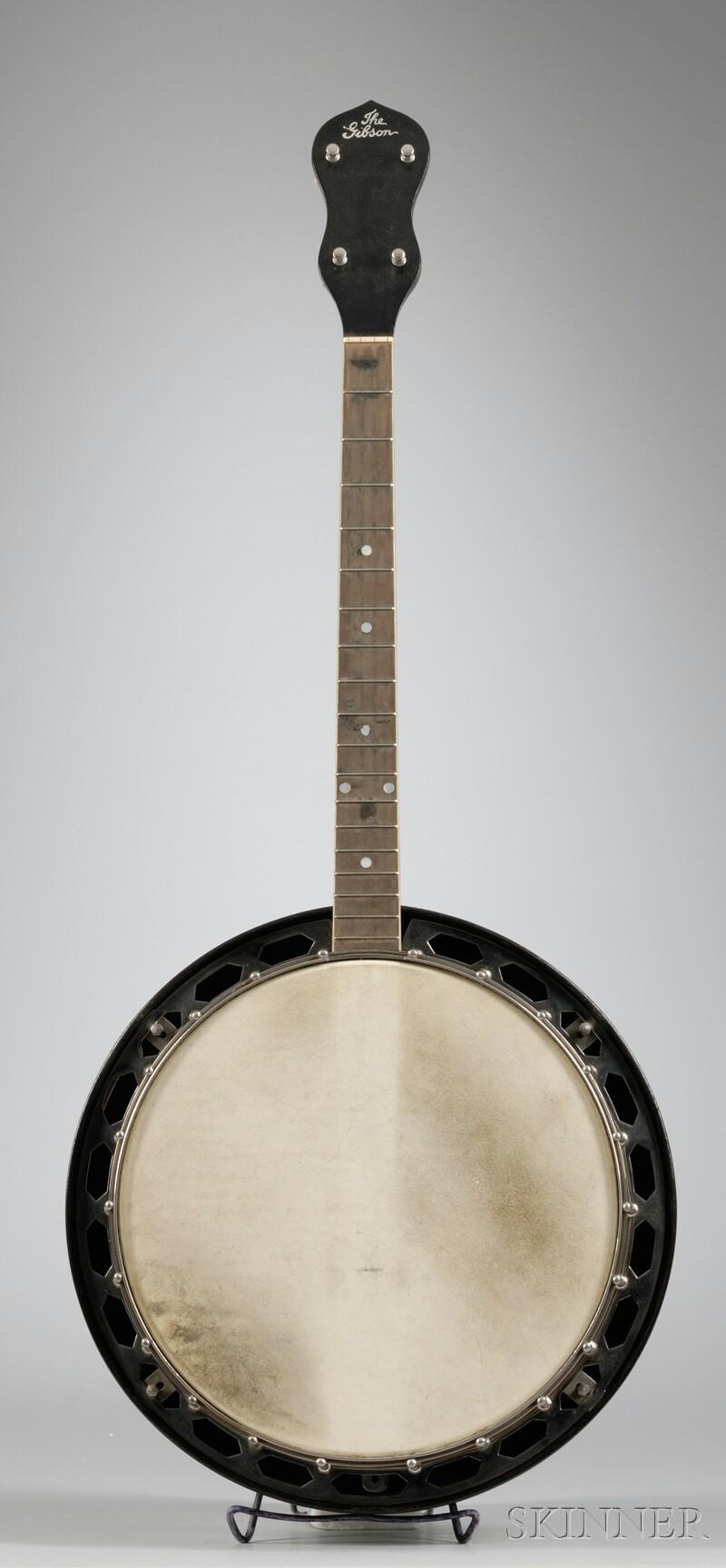 American Tenor Banjo, Gibson Incorporated, Kalamazoo, c. 1927, Style TB-1
