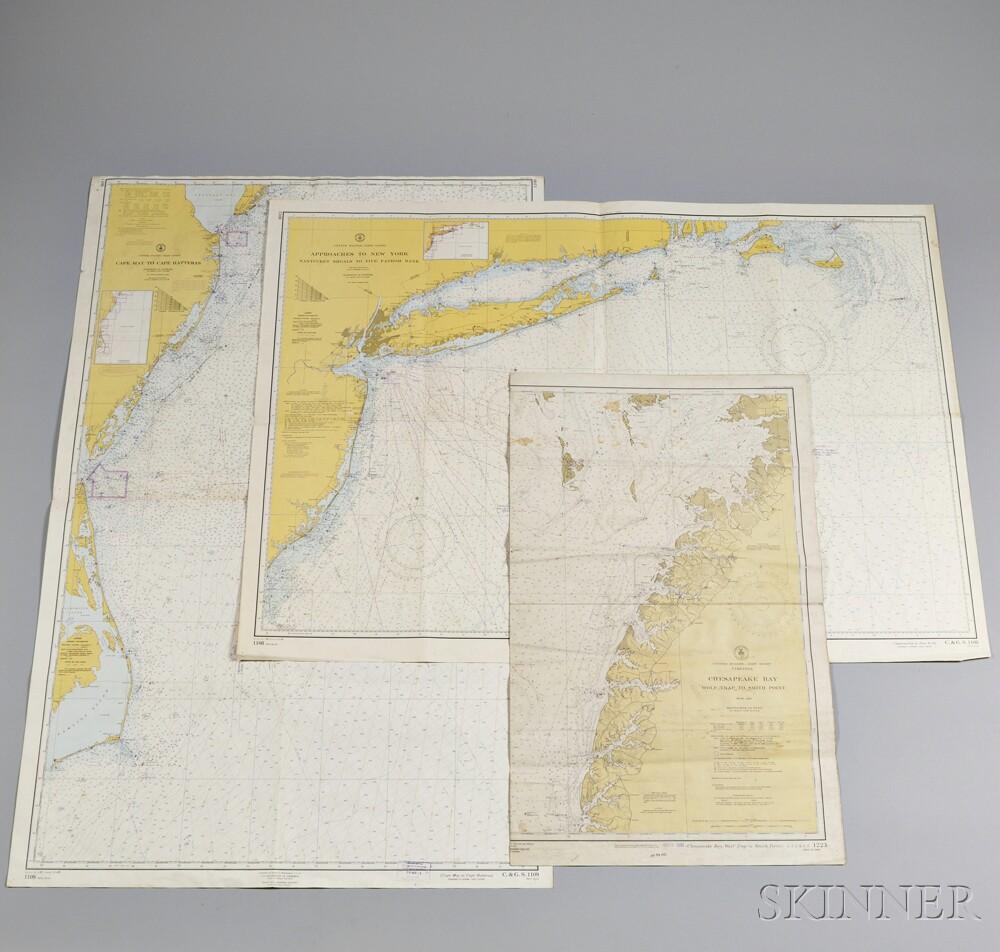 Three Nautical Charts