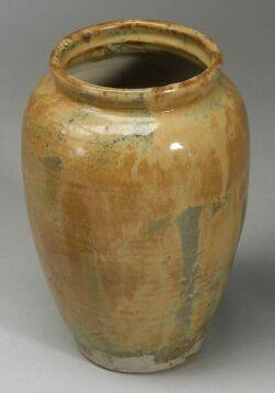 Japanese Glazed Ceramic Jar, Tea Jar and Vase.