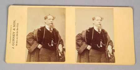 Stereoscopic Portrait of Charles Dickens