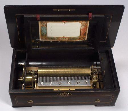 Cylinder Musical Box by Ami Rivenc