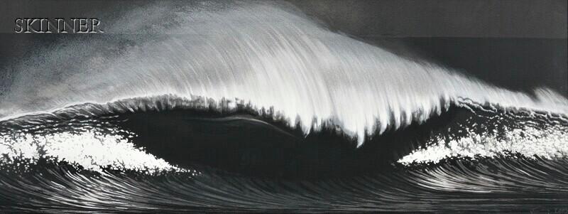Robert Longo (American, b. 1953)      The Wave