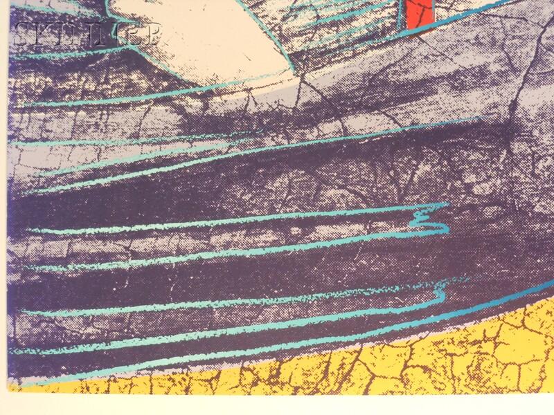 Andy Warhol (American, 1928-1987)      Saint Apollonia
