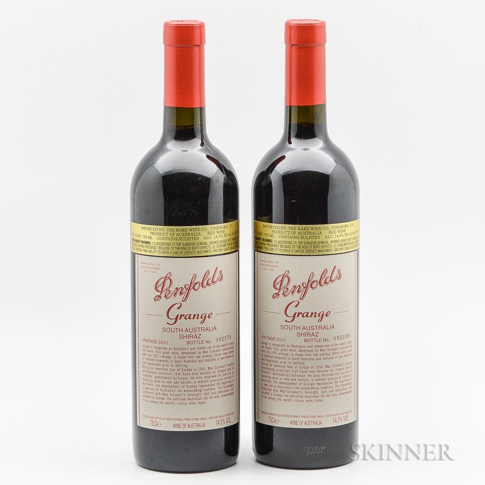 Penfolds Grange 2001, 2 bottles