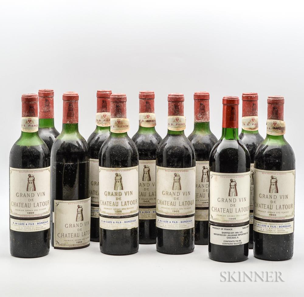 Chateau Latour 1966, 11 bottles
