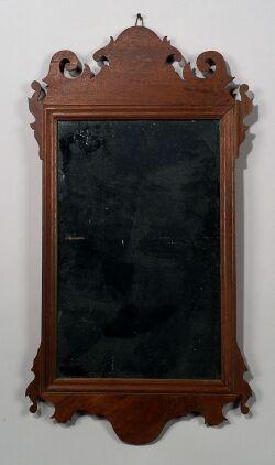 Chippendale Mahogany Mirror