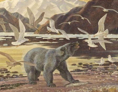 Paul Bransom (American, 1886-1979)  Glacier Bear