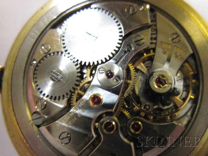 18kt Gold Wristwatch, International Watch Co.