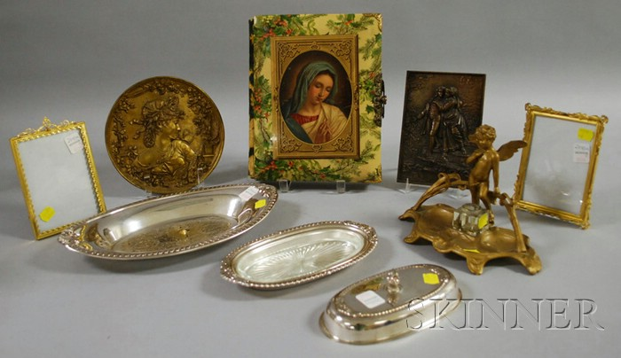 Assorted Group of Eight Metal Items