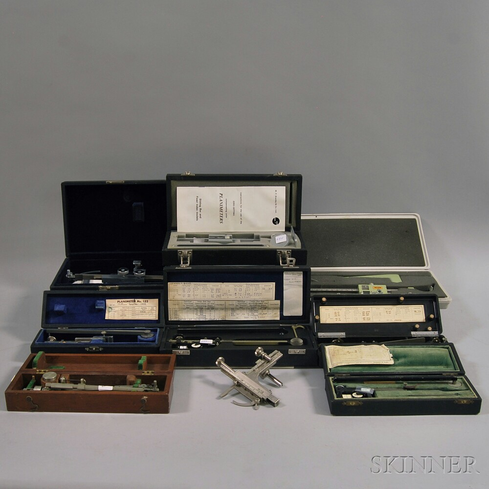 Collection of Planimeters