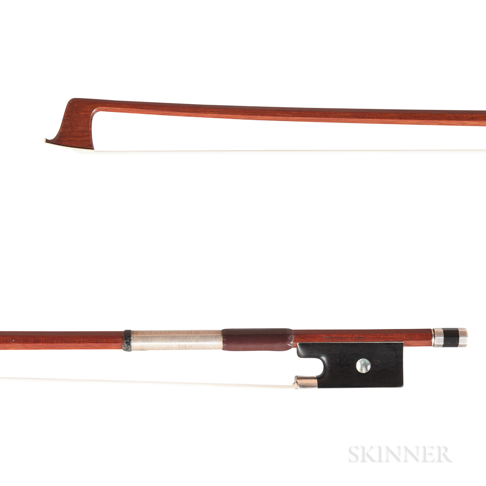 Silver-mounted Violin Bow, Hoyer Workshop