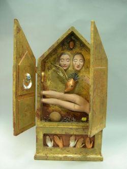 Surrealist Reliquary Box.