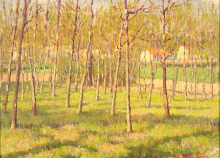 Elmer Boyd Smith (American, 1860-1943)    Grove of Trees