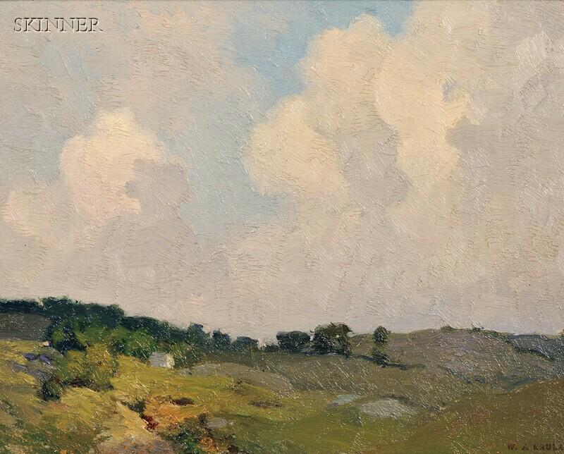 William Jurian Kaula (American, 1871-1953)      Landscape #28