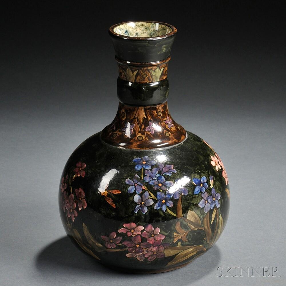 John Bennett Earthenware Vase