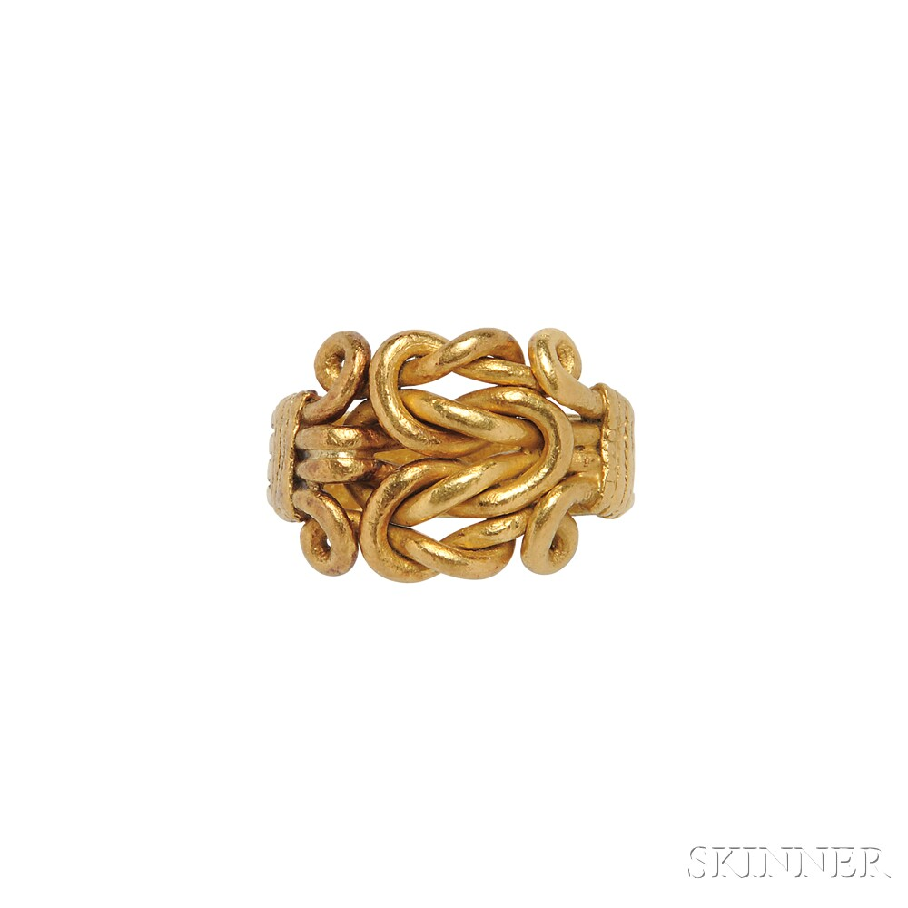 High-karat Gold Pavitram Ring