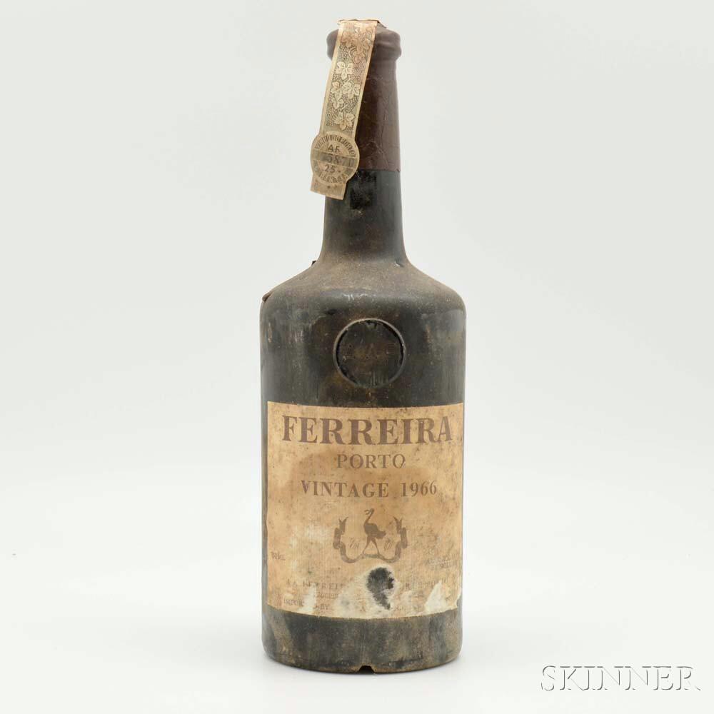 Ferreira Port 1966, 1 bottle