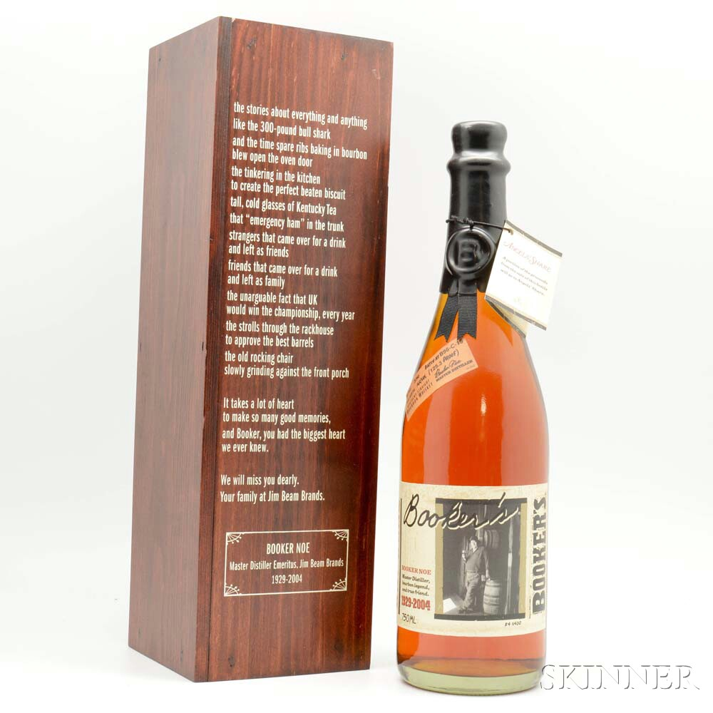 Bookers Limited Edition, 1 750ml bottle (owc)