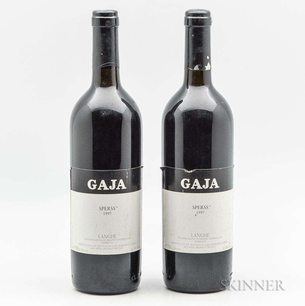 Gaja Sperss 1997, 2 bottles