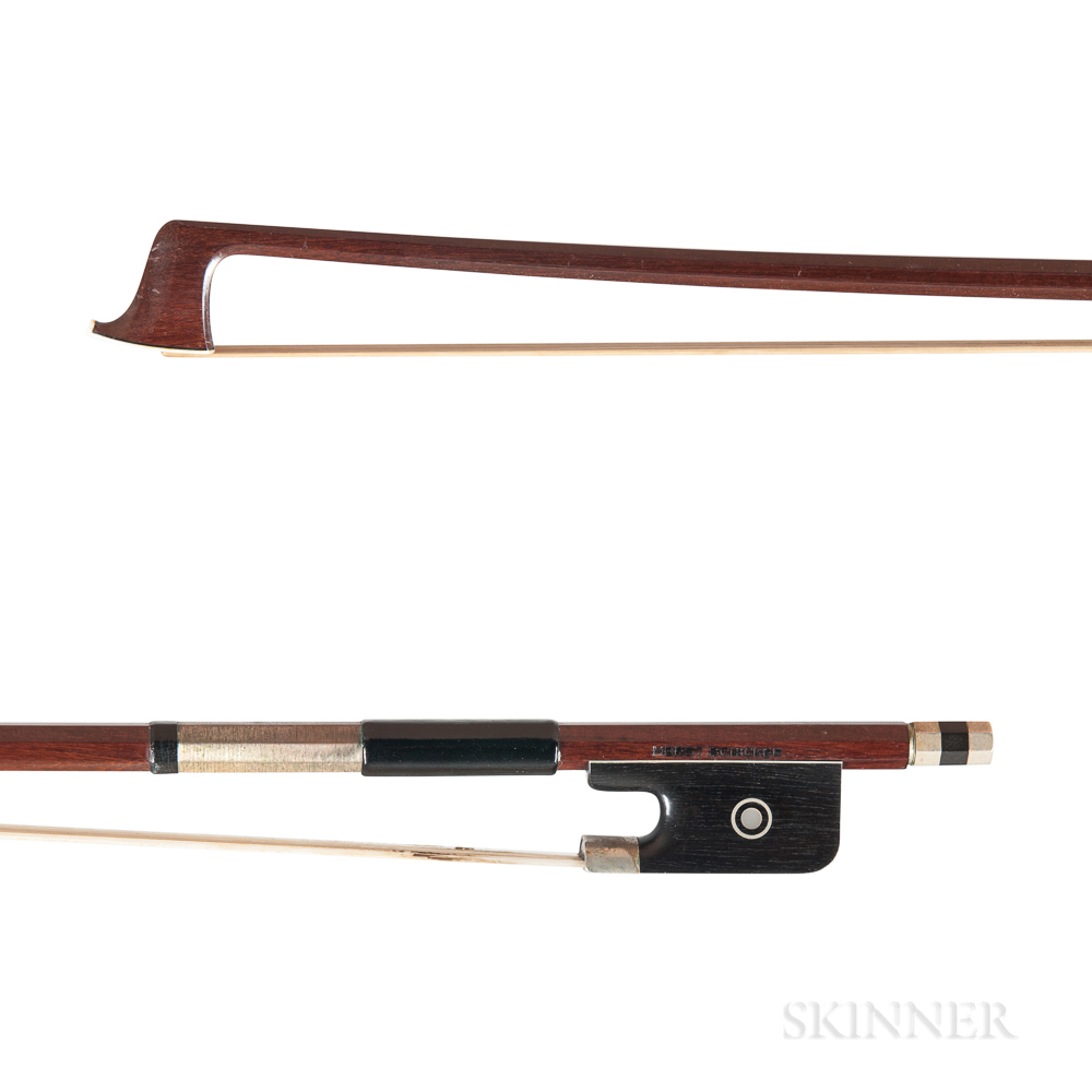 Nickel-mounted Viola Bow