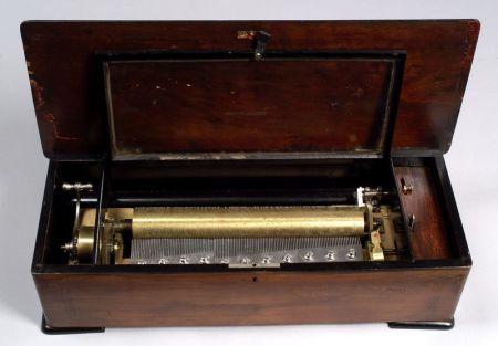 Sublime Harmony Piccolo Musical Box by Mermod Freres