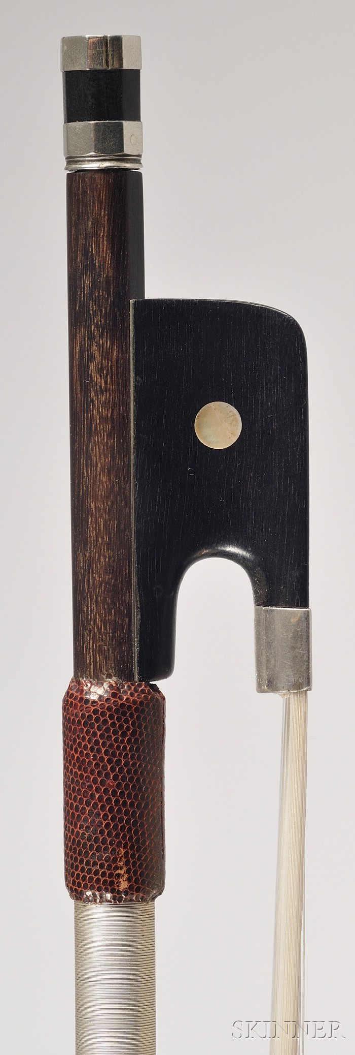 Silver Mounted Violoncello Bow