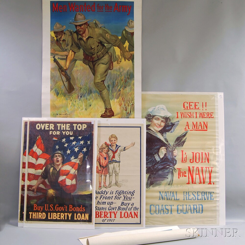 World War I Recruiting Posters, Six: