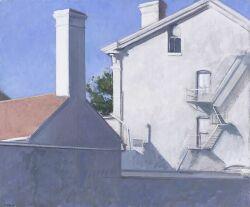 Martin J. Kotler (American, 20th Century)  Navy Yard, White Building Series