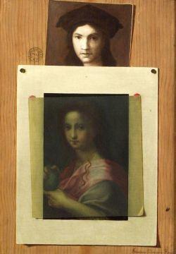 Francesco Alegiani (Italian, 20th Century)  Trompe l'Oeil