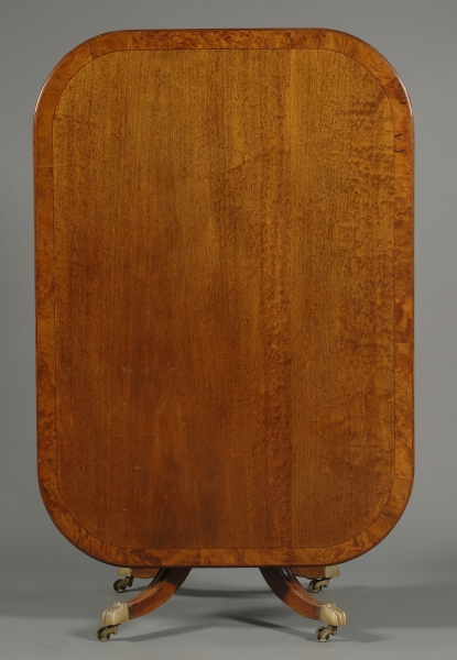 Regency Mahogany and Inlay Tilt-top Breakfast Table